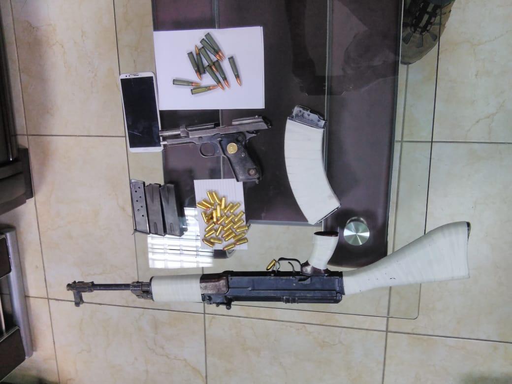 ضبط سلاح